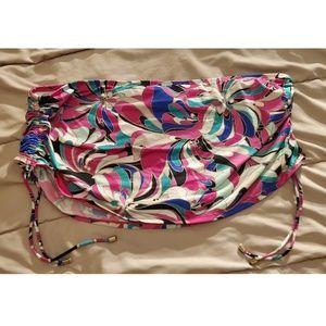 Floral Skirt Bikini Bathing Suit Bottom